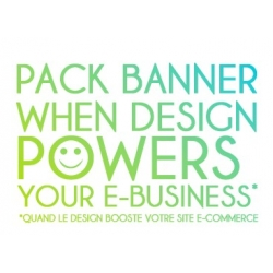 Pack banner design