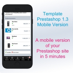 Prestashop Classic Mobile Template