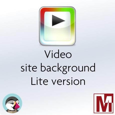 Video background Lite module for Prestashop