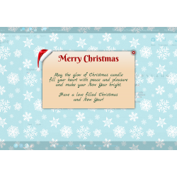 Christmas message PrestaShop Module