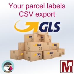 Export Labels orders GLS