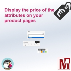 Display attributes prices on your PrestaShop products