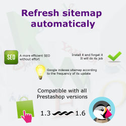 Update Automatic Sitemap module for PrestaShop