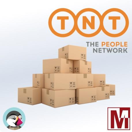 Module TNT Express solution to track your PrestaShop parcels