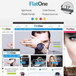 Flatone - PrestaShop 1.7 responsive template