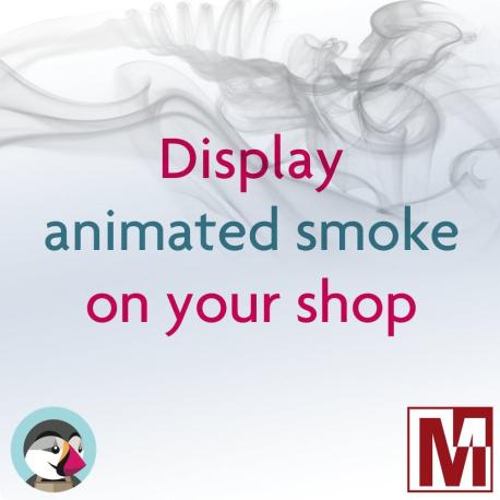 Show smoke swirls on your PrestaShop store