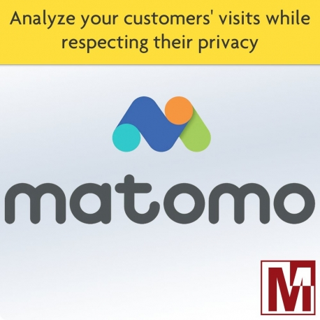 Follow your visitors with Matomo