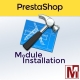 PrestaShop Installation Module Service