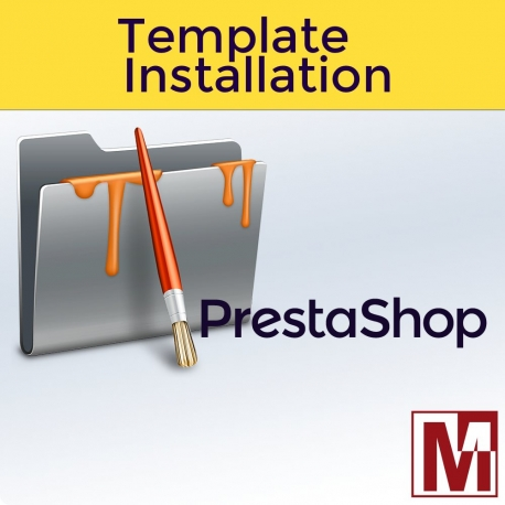 PrestaShop Template Installation service