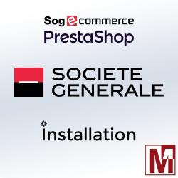 PrestaShop, Installation module payment Sogecommerce from Société Générale