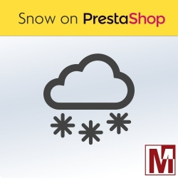 Snowfall on PrestaShop