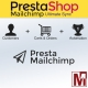 PrestaShop module for synchronization with Mailchimp