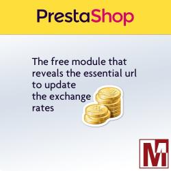 Reveal the url for Prestashop exchange rates