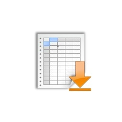 Catalog export in CSV format